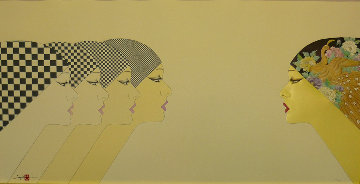 East Meets West 1984 Limited Edition Print - Hisashi Otsuka