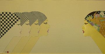East Meets West 1984 20x38 Super Huge  Limited Edition Print - Hisashi Otsuka