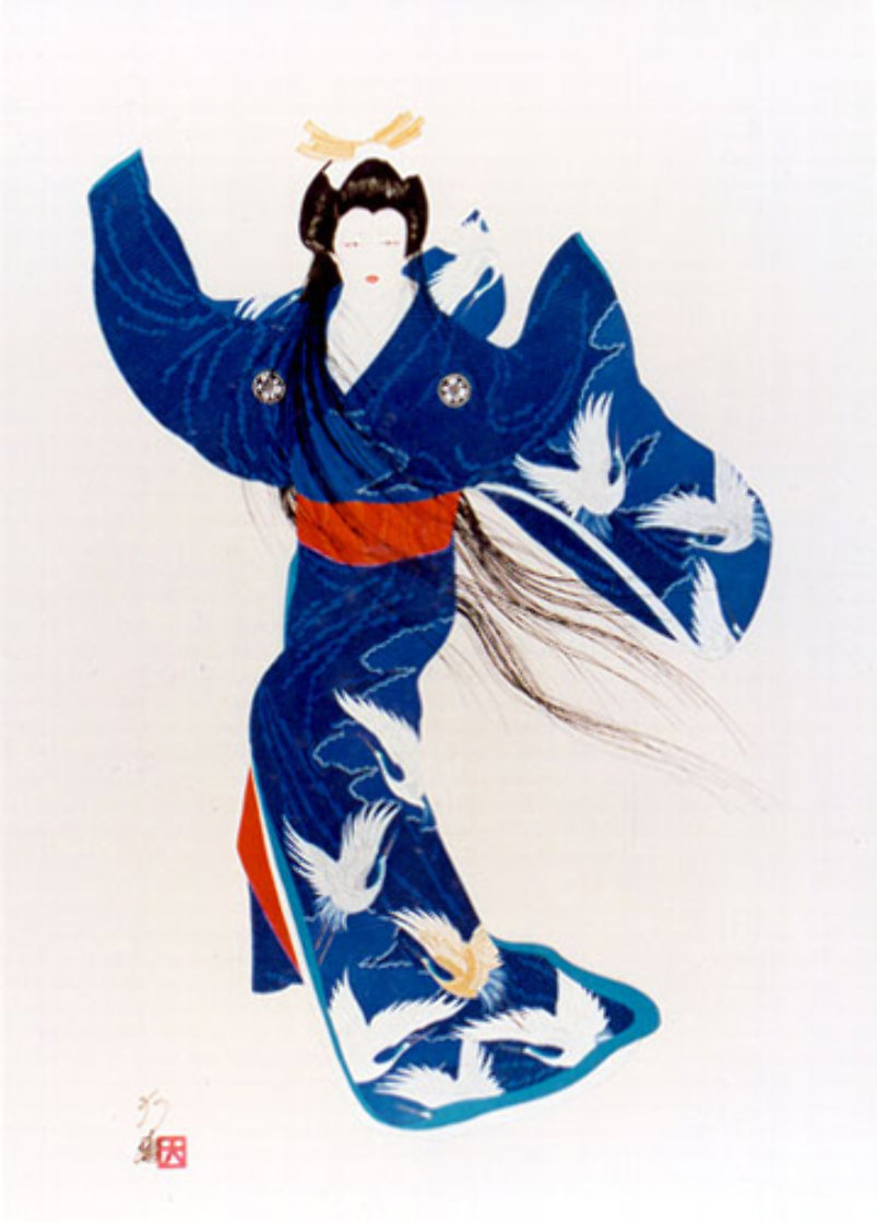 Lady Of Mieko Of Summer 39x28 Super Huge Limited Edition Print by Hisashi Otsuka