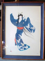 Lady Of Mieko Of Summer 39x28 Super Huge Limited Edition Print by Hisashi Otsuka - 1