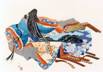 Twelve Kimonos Limited Edition Print by Hisashi Otsuka
