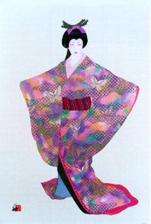 Lady Mieko Spring 38x26 Huge Limited Edition Print - Hisashi Otsuka