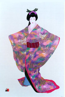 Lady Mieko Spring Limited Edition Print by Hisashi Otsuka