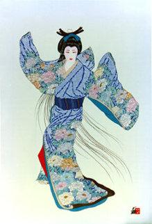 Lady Mieko Summer II Limited Edition Print - Hisashi Otsuka