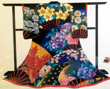 Autumn Kimono 2002 Limited Edition Print - Hisashi Otsuka