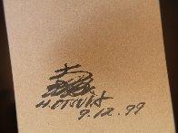 Eyes 1995 20x23 Original Painting by Hisashi Otsuka - 5