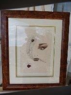 Eyes 1995 20x23 Original Painting by Hisashi Otsuka - 1