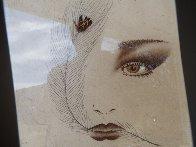 Eyes 1995 20x23 Original Painting by Hisashi Otsuka - 2