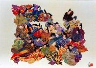 36 Immortal Poets 1984 Limited Edition Print by Hisashi Otsuka - 0