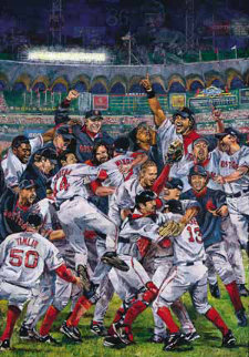 Boston Champs 2004 Limited Edition Print - Opie Otterstad