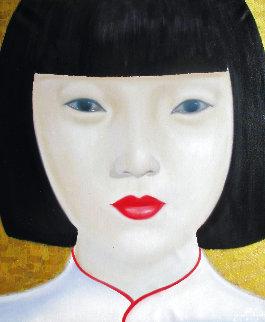 Beauty of Asia X 2012 47x40 Huge Original Painting -  Ouaichai