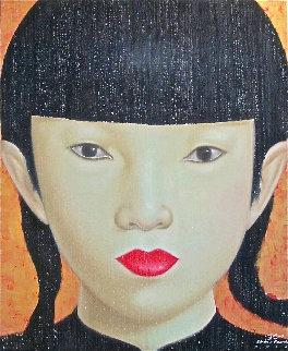 Beauty of Asia XXVI 2012 47x40 Huge Original Painting -  Ouaichai