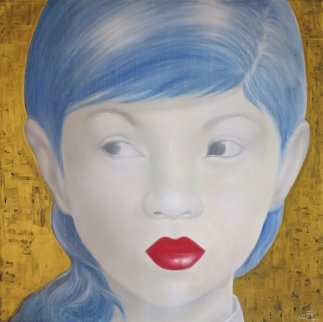 Beauty of Asia XXI 2012 47x47 Original Painting -  Ouaichai