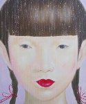 Beauty of Asia I 2012 47x40 Original Painting -  Ouaichai