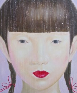 Beauty of Asia I 2012 47x40 Super Huge Original Painting -  Ouaichai