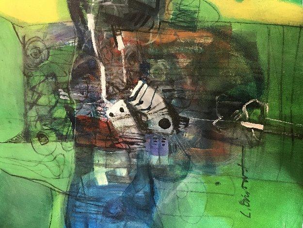 Guardian De La Noche  Original Painting by Luis Oviedo