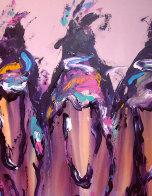 Ghost Riders 1991 60x48 Super Super Huge Original Painting by Pablo Antonio Milan - 3
