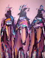 Ghost Riders 1991 60x48 Super Super Huge Original Painting by Pablo Antonio Milan - 4