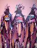 Ghost Riders 1991 60x48 Original Painting by Pablo Antonio Milan - 3