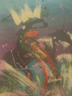 Four Indian Warriors on Horse Back 1997 Limited Edition Print by Pablo Antonio Milan - 1