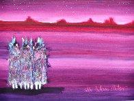 Monument Valley 1989 38x31 Original Painting by Pablo Antonio Milan - 1