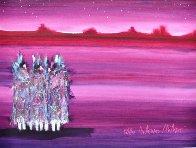 Monument Valley 1989 38x31 Original Painting by Pablo Antonio Milan - 0