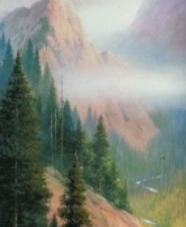 Out of the Woods   2000 Embellished Limited Edition Print by Charles H Pabst