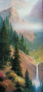 Out of the Woods Embellished Limited Edition Print by Charles H Pabst