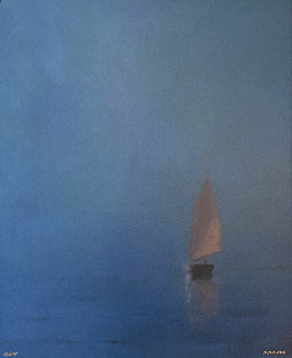 Evening Sail  too high Limited Edition Print - Anne Packard