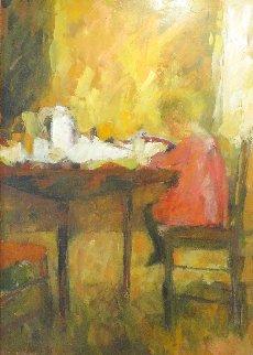 Emma 55x41 Original Painting - Cynthia Packard