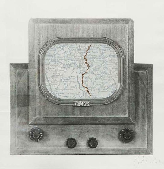 June Golden View 1991 Limited Edition Print by Nam June Paik