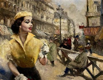 Nanette 26x32 Original Painting - Pal Fried