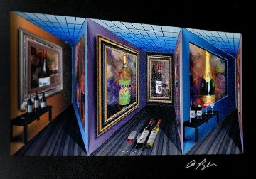 Fine Wine - Art in Motion 3-D 2015 Limited Edition Print by Dominic Pangborn