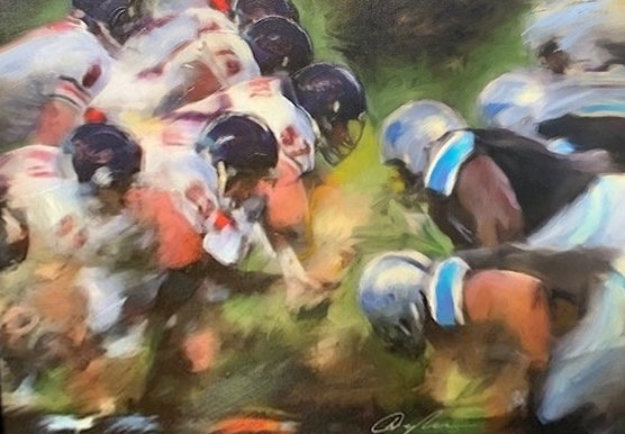 Fourth and Goal 2007 Limited Edition Print by Dominic Pangborn