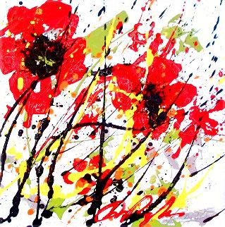 Sunny Days 2010 12x12 Original Painting - Dominic Pangborn