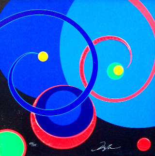 American Icon - Weekend Orbit Embellished Limited Edition Print - Dominic Pangborn