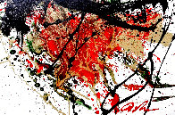 Hunger 2007 32x37 Original Painting by Dominic Pangborn - 0