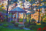 Sunset 2016 30x35 Original Painting by Dominic Pangborn - 0