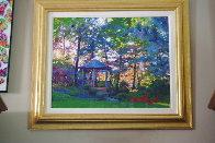 Sunset 2016 30x35 Original Painting by Dominic Pangborn - 1