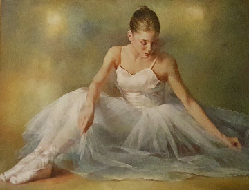 Ballerina  Original Painting - Stephen Pan