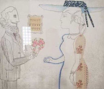 Lovers Limited Edition Print by Max Papart