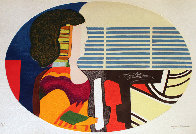 Piano Blues - Profile De Femme 1989 Limited Edition Print by Max Papart - 0