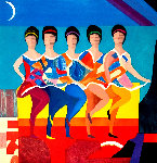 American Ballet Limited Edition Print - Max Papart