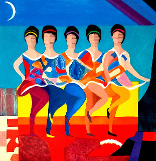 American Ballet Limited Edition Print by Max Papart