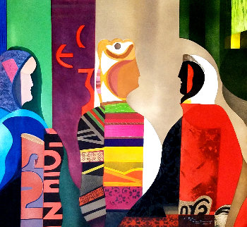 Picasso Femmes D'alger Cubist HC Limited Edition Print by Max Papart