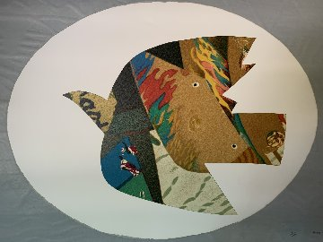 Spanish Bird 1983 Limited Edition Print by Max Papart