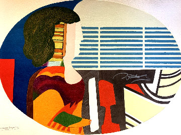 Piano Blues 1989 Limited Edition Print - Max Papart