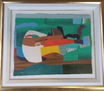 Hommage a Picasso I 1993 Limited Edition Print by Max Papart