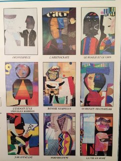 Un Lot De Joyeuses Affiches Suite (9 Prints) 1987 Limited Edition Print by Max Papart