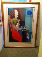Blue Moon 1980 Super Huge Limited Edition Print by Max Papart - 1